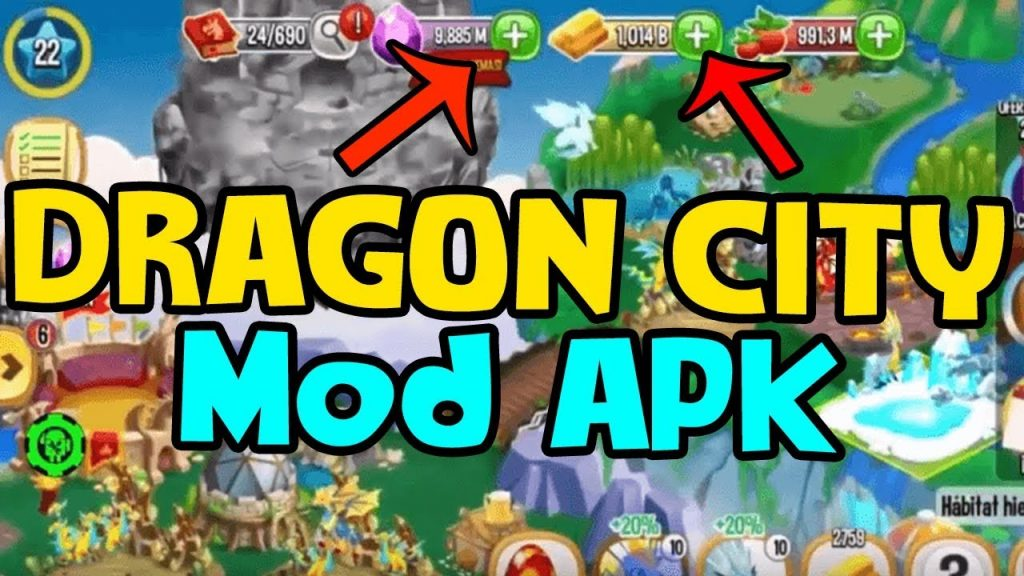 Dragon City MOD APK 2021 v10.9.2 Download | Unlimited Gems, Gold 1