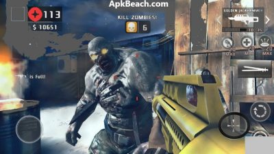 Dead Trigger 2 Mod Apk Unlimited Money