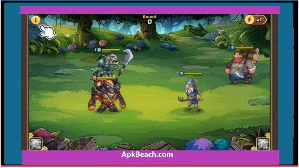idle heroes mod apk unlimited Money & gems