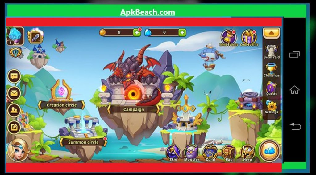 Idle Heroes MOD APK 1.25.0.p1 (Unlimited Gems+Money) Download 1