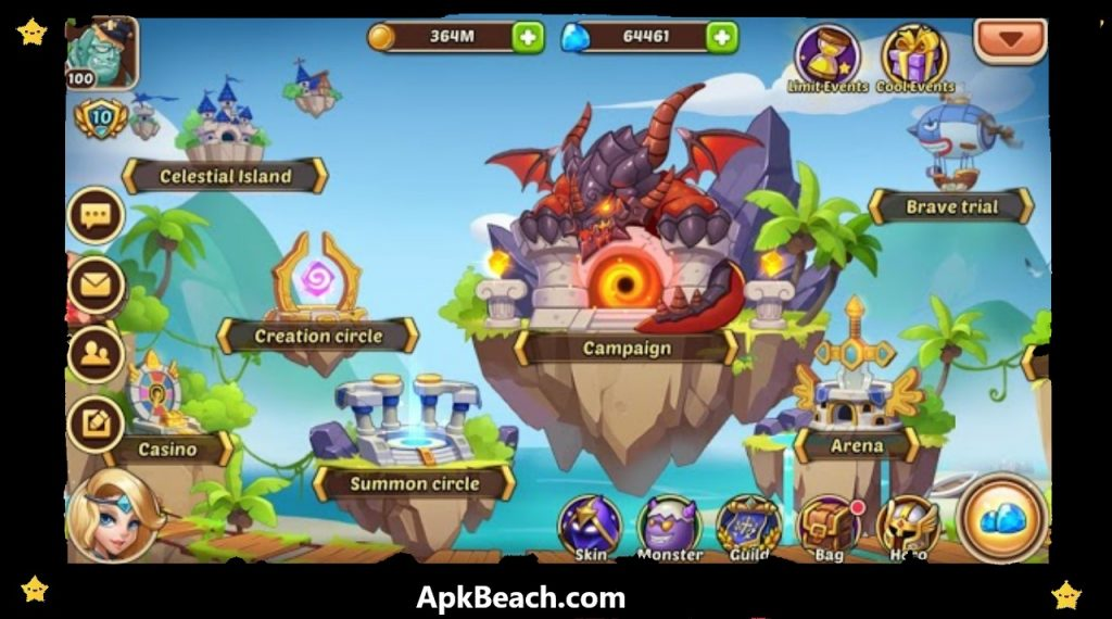 Idle Heroes MOD APK 1.25.0.p1 (Unlimited Gems+Money) Download 2