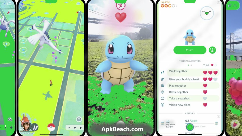 Pokemon Go MOD APK 0.195.2 (Unlimited Money + No GPS) 1