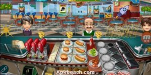 Cooking Fever MOD APK 11.1.0 (Unlimited Coins/Diamonds) Download 3