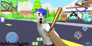 Dude Theft Wars MOD APK 0.87 (Unlimited Money/Shopping) Download 2