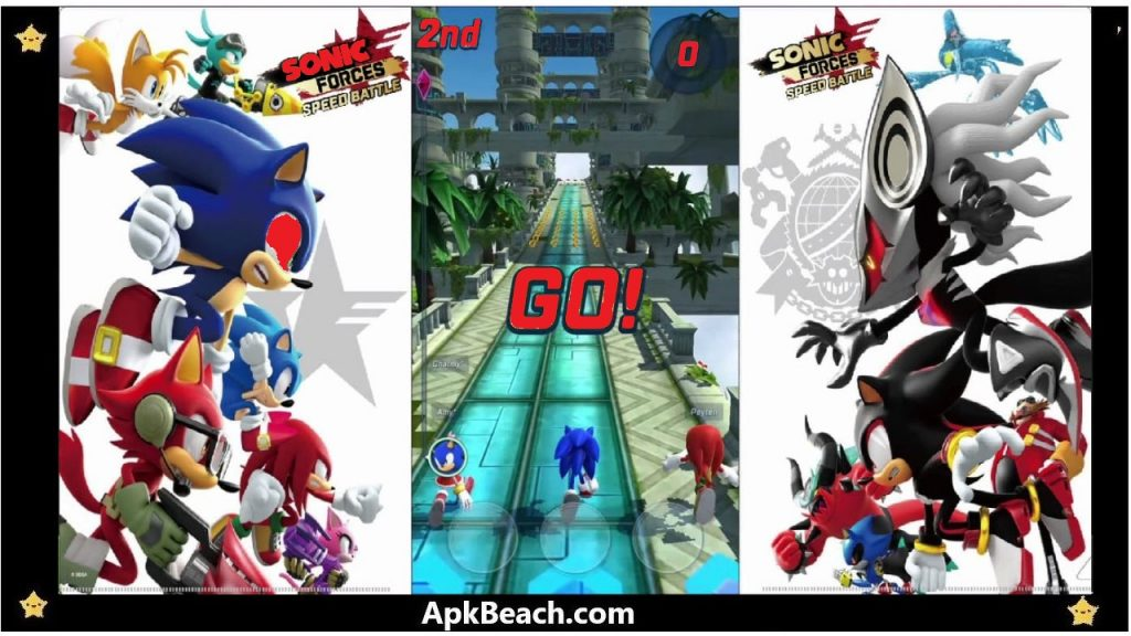 Sonic Forces MOD APK 3.4.0 (All Unlocked/Money) Download 2