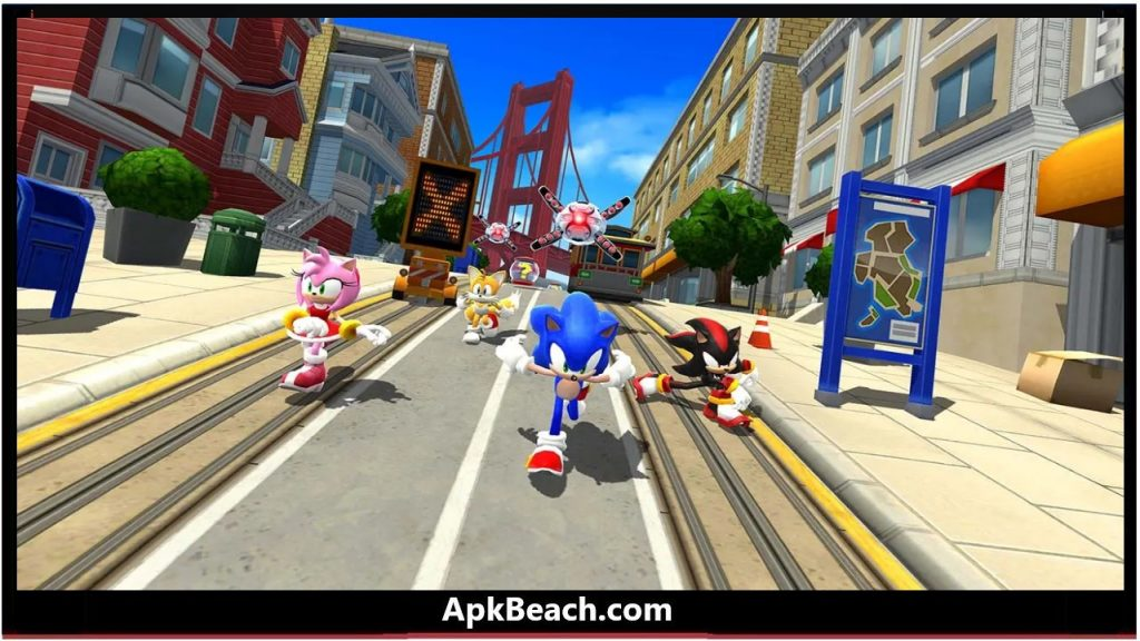 Sonic Forces MOD APK 3.4.0 (All Unlocked/Money) Download 1