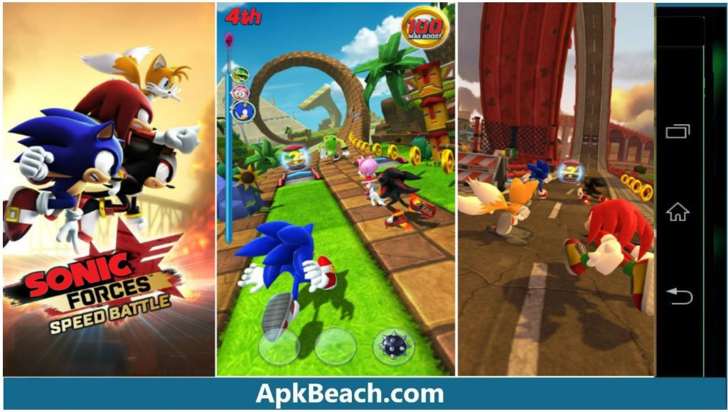 Sonic Forces MOD APK 3.4.0 (All Unlocked/Money) Download 3