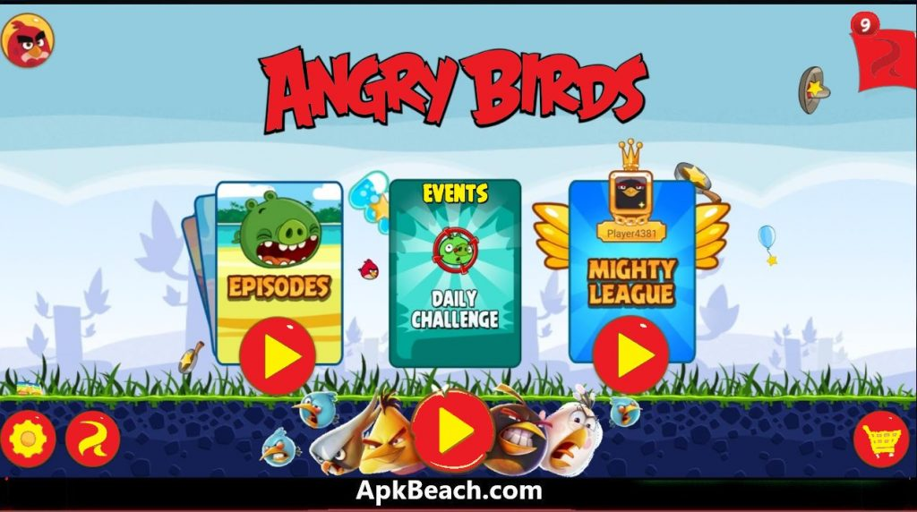 Angry Birds Classic Mod Apk 9.9.0 2021 (Unlimited Money) Download 1