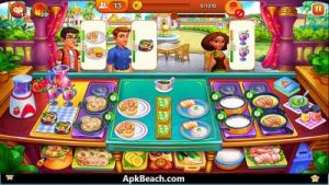Cooking Madness Mod APK 2021 Download (Unlocked Everything) 2