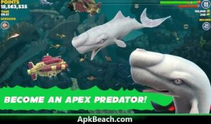 Hungry Shark Mod APK 2021 Download (Unlimited Money,All Sharks ) 3