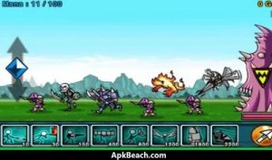 Cartoon Wars Mod Apk Latest (Unlimited Gold) For Android 3
